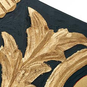 Icona Vergine Eleousa Grecia serigrafata e dipinta s4