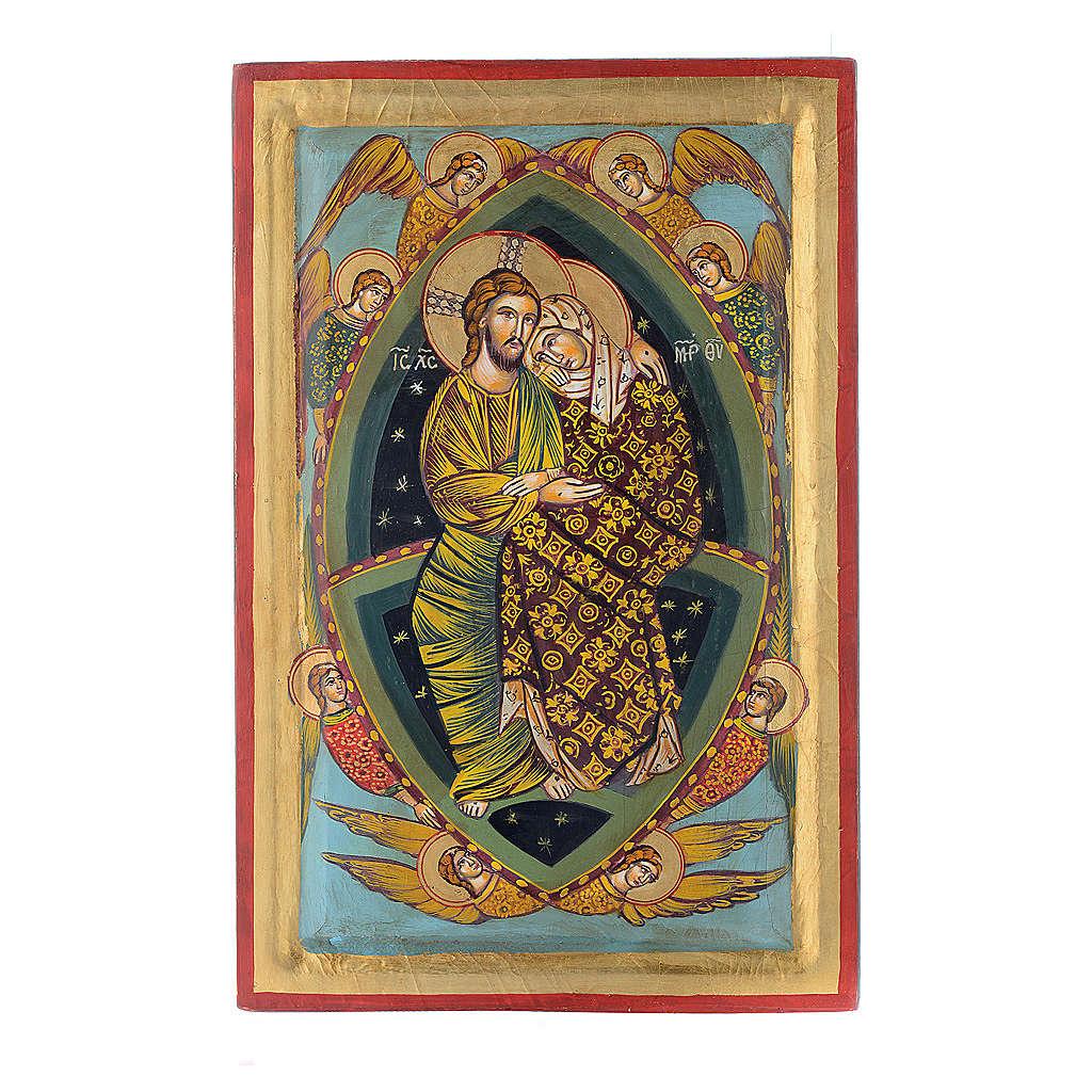 Icône grecque peinte