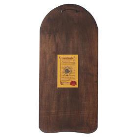 Ícone em baixo-relevo Mãe de Deus Odighitria 45x20 cm s3