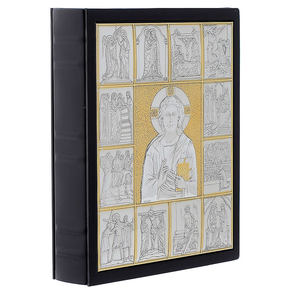 Leather slipcase for Lectionary with Christ Pantocrator 4