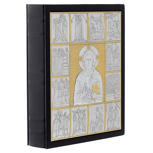 Leather slipcase for Lectionary with Christ Pantocrator 2