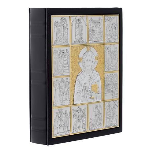 Couverture lectionnaire, cuir, Jésus Pantocrator 2