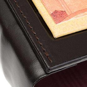 Couverture lectionnaire cuir toile Jésus s3