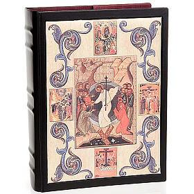 Couverture lectionnaire cuir Résurrection s1