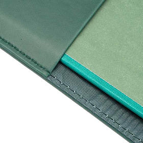 Leather slipcase for Lectionary with evangtelists symbols s2