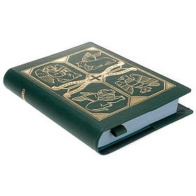 Couverture lectionnaire verte èvangélistes s4