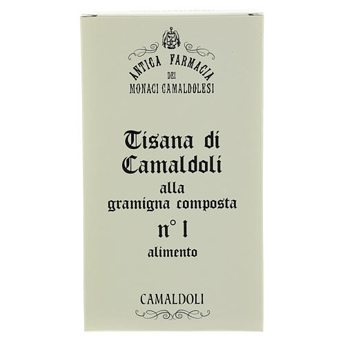 Camaldoli Bermuda grass herbal tea 1