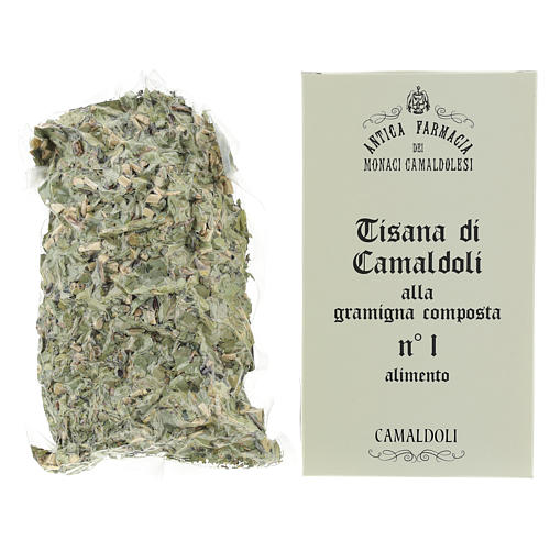 Camaldoli Bermuda grass herbal tea 2