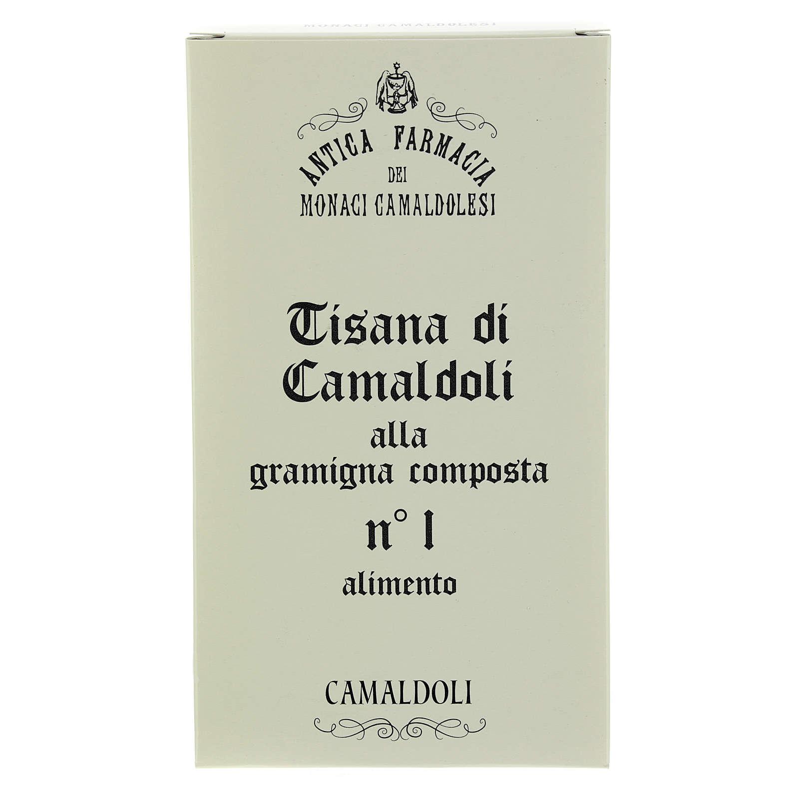 Tisane à la graminée de Camaldoli, 100gr 3