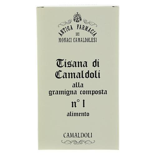 Camaldoli Bermuda grass herbal tea 1