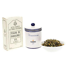 Teas and Brews: Camaldoli Melissa herbal tea