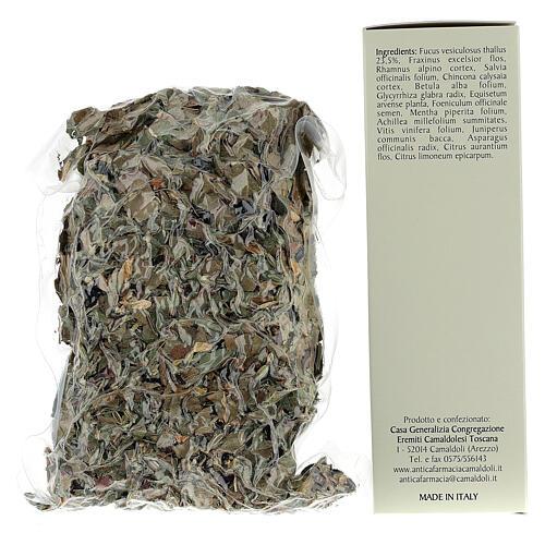 Camaldoli Sea oak herbal tea 4