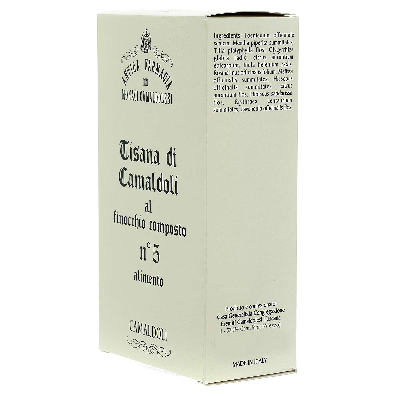 Camaldoli Fennel herbal tea 3
