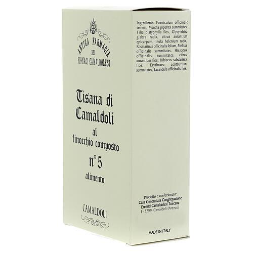 Camaldoli Fennel herbal tea 2