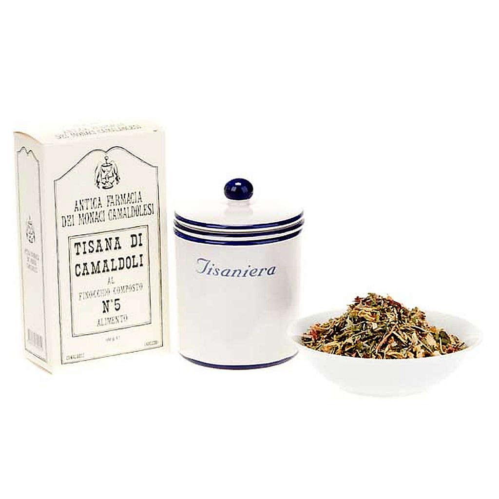 Koper włoski Herbata ziołowa Camaldoli 100 g 3