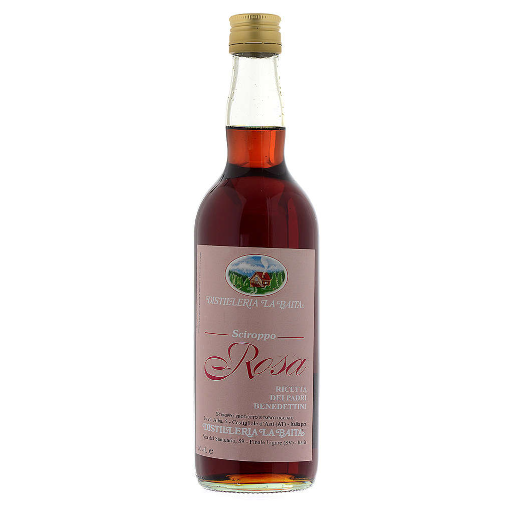 Rose petal syrup brew- Finalpia Abbey 700 ML 3