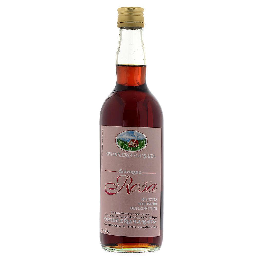 Sirop, infusion, pétales de rose. Abbaye Finalpia 700 ML 3
