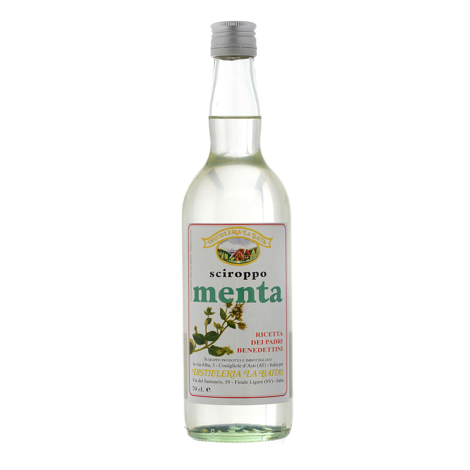 Jarabe infuso al gusto de menta 700 ml Finale Ligure 3