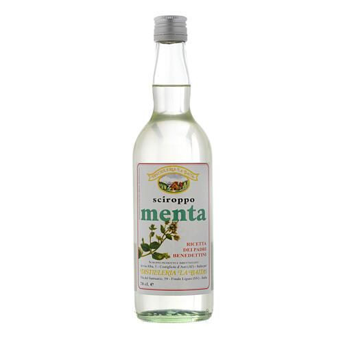 Jarabe infuso al gusto de menta 700 ml Finale Ligure 1