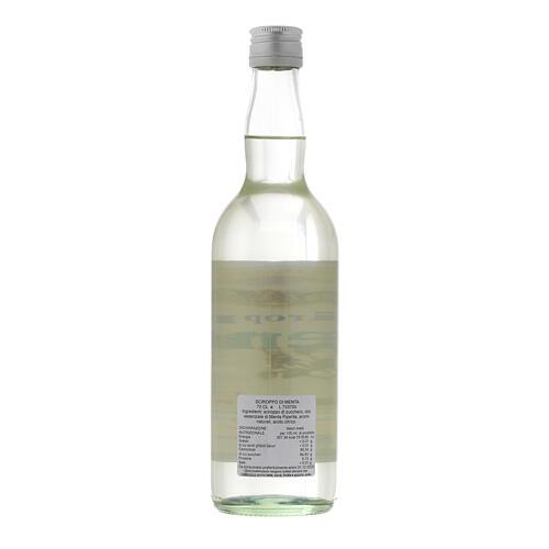 Jarabe infuso al gusto de menta 700 ml Finale Ligure 2