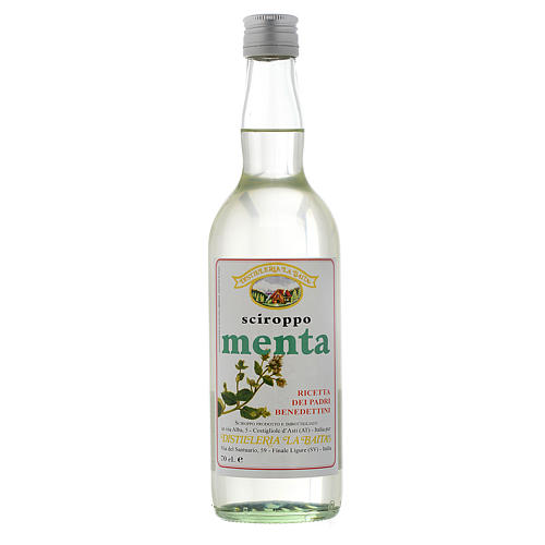 Mint syrup infusion 700ml Finale Ligure 1