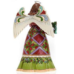 Ángel con guirnalda ( Christmas Angel Holding Garland) s3