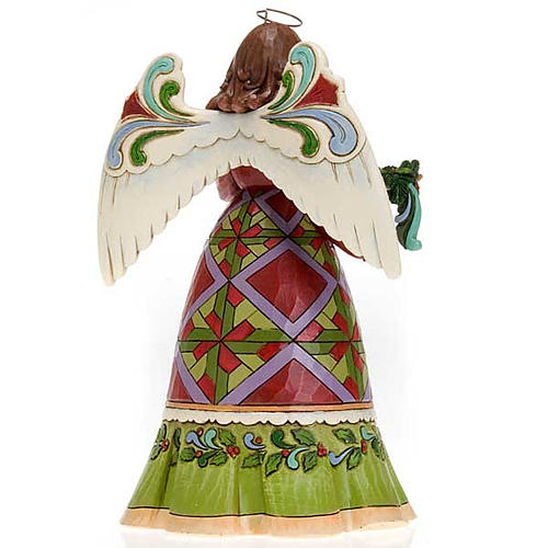 Ángel con guirnalda ( Christmas Angel Holding Garland) 3