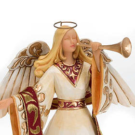 Ángel con trompeta (Ivory and Gold Angel) s2