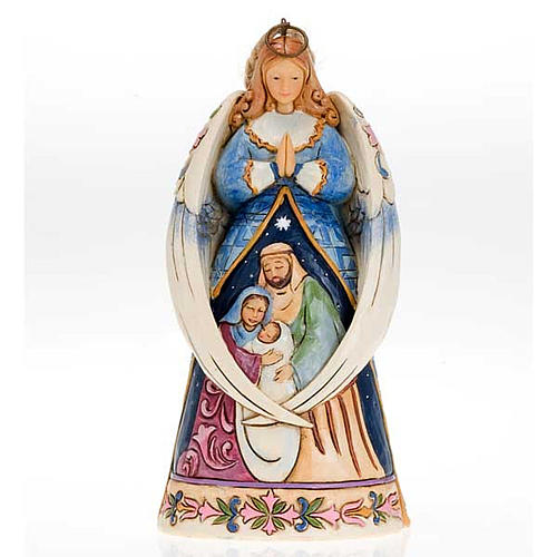 Angel with Holy Family, Ange avec Sainte Famille 1