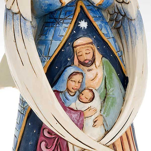 Angel with Holy Family - Jim Shore 4