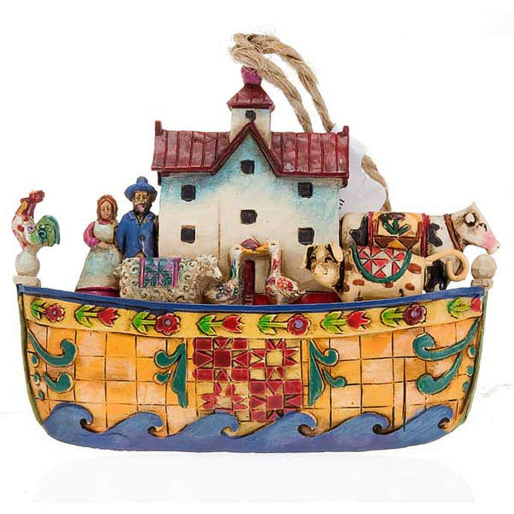 Noah's Ark hanging decoration - Jim Shore 4
