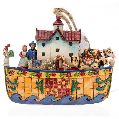 Noah's Ark hanging decoration - Jim Shore 1