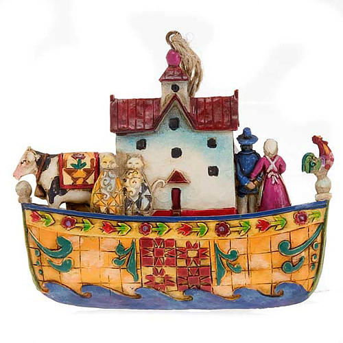 Noah's Ark hanging decoration - Jim Shore 3