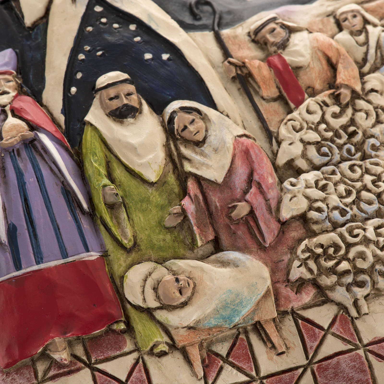 Nativity Star Hanging Ornament by Jim Shore 4