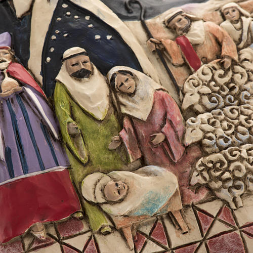 Nativity Star Hanging Ornament by Jim Shore 3