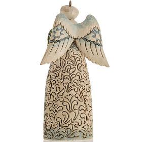 Ange du Noel Jim Shore - Winter angel Nativity s4