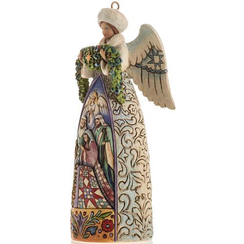 Ange du Noel Jim Shore - Winter angel Nativity 3