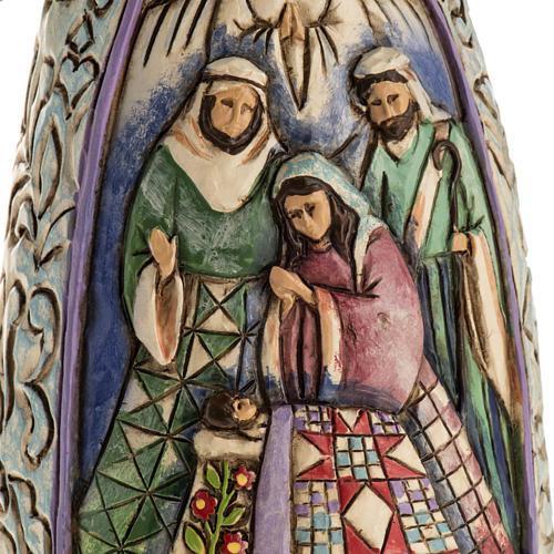 Ange du Noel Jim Shore - Winter angel Nativity 5