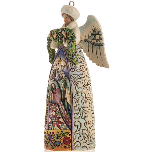Winter Angel Nativity Hanging ornament by Jim Shore 3