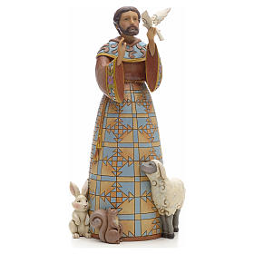 Saint Francis figurine by Jim Shore s1