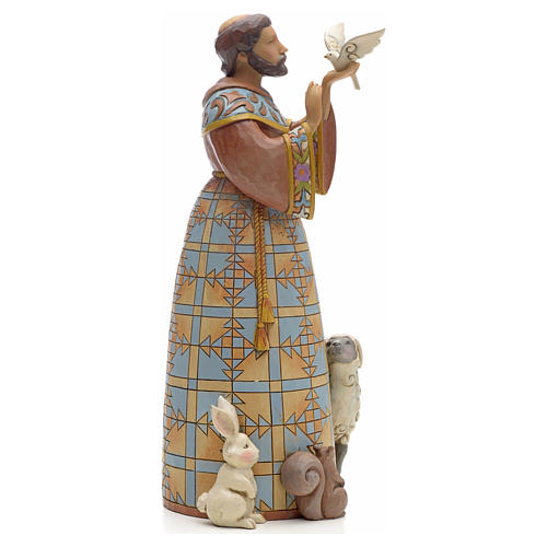 Saint Francis figurine by Jim Shore 2