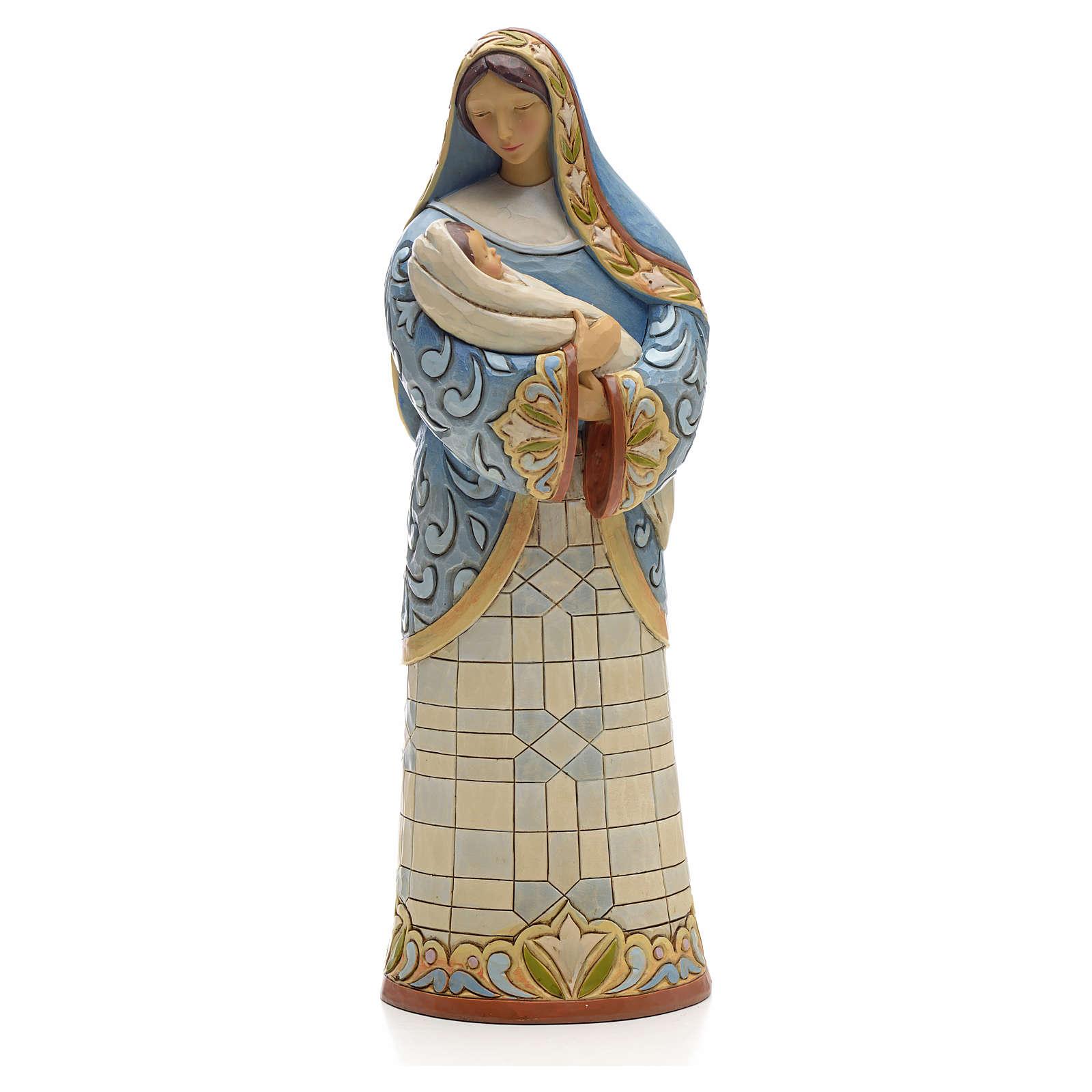 Virgin Mary figurine by Jim Shore 4