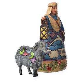 Jim Shore - Mini Nativity Shepherd 10cm s2