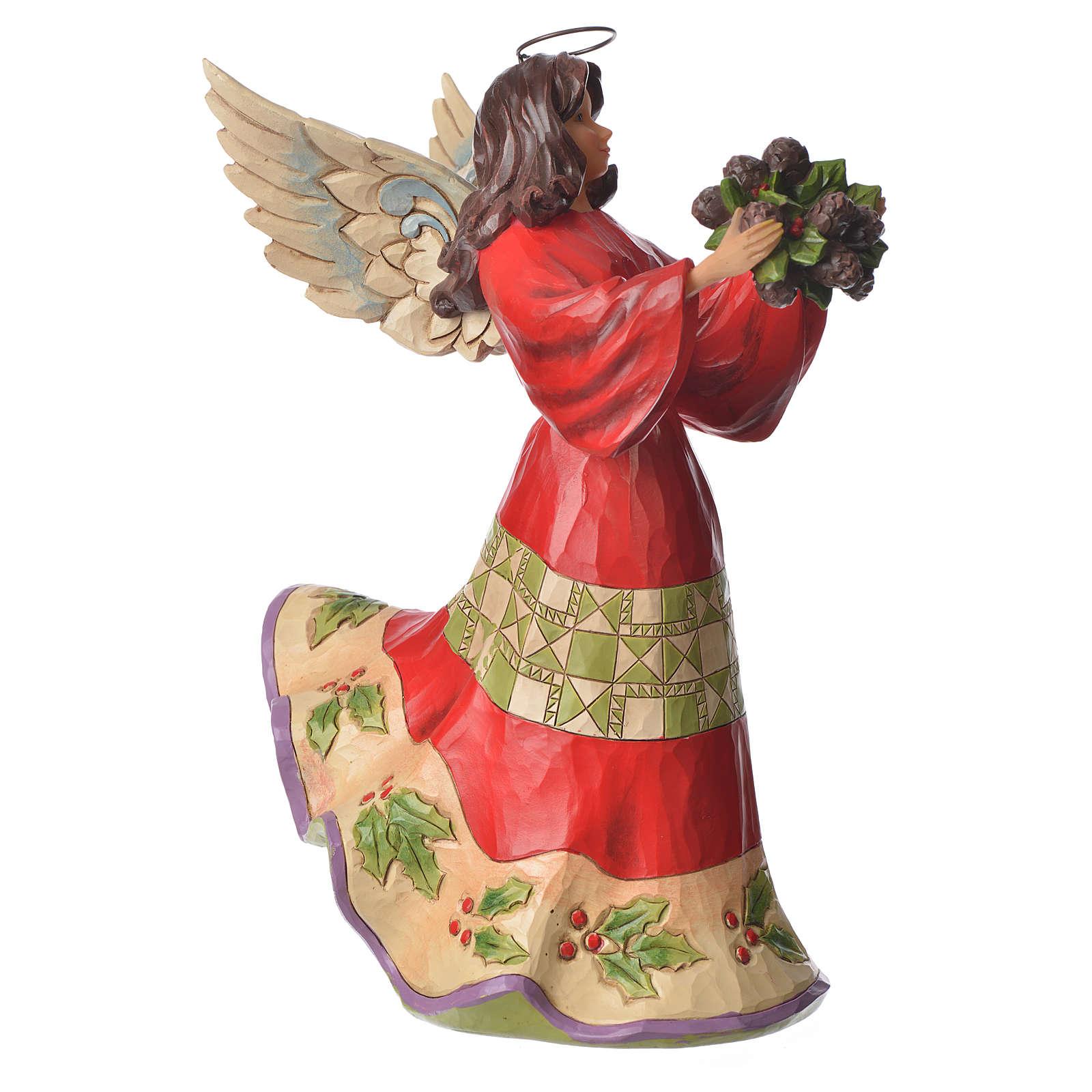 Jim Shore - Winter Wonderland Angel figurine 4