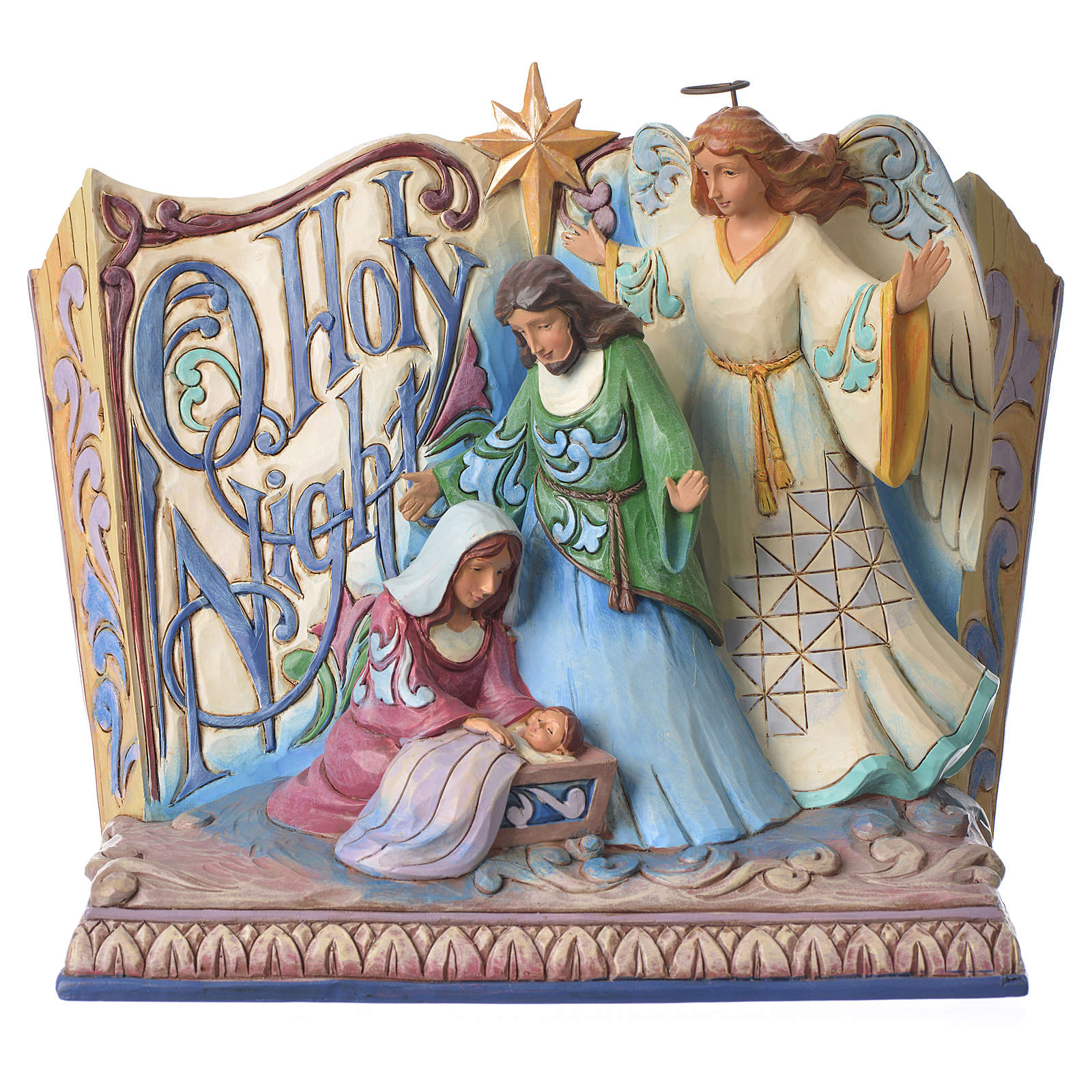 Jim Shore - Song Book Holy Night (Natività con libro) 4