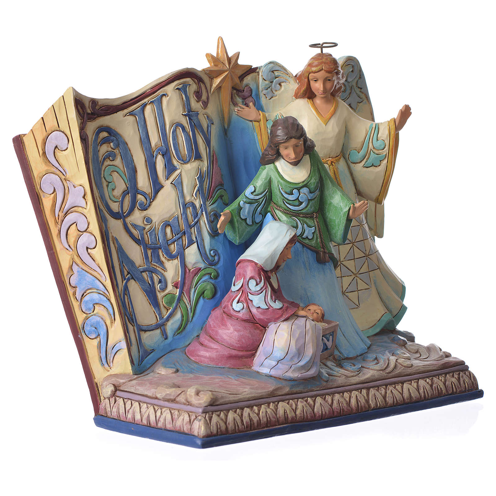 Jim Shore - Song Book Holy Night figurine 4