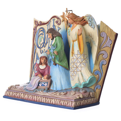 Jim Shore - Song Book Holy Night figurine 2