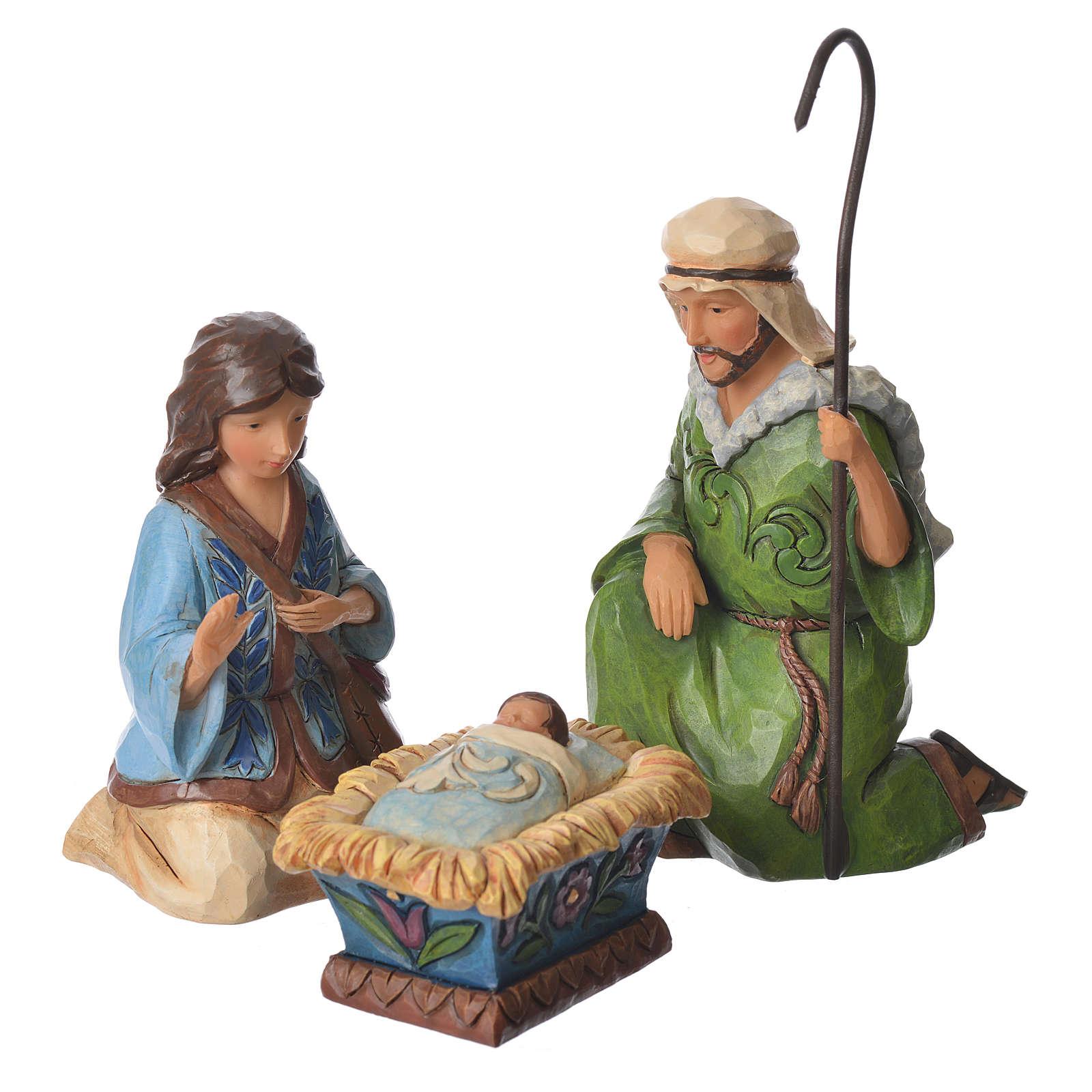 Jim Shore - Print Nativity Set 9St. 13cm 4