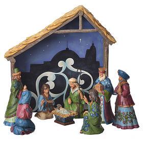 Jim Shore - Print Nativity Set 9St. 13cm s1