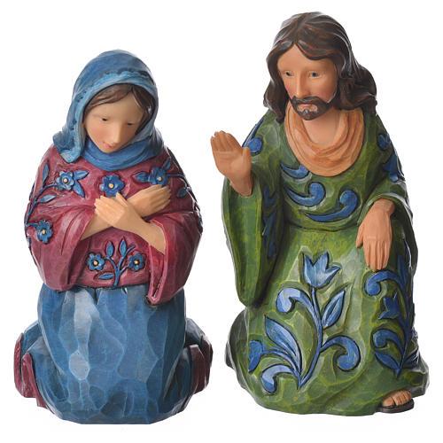 Jim Shore - Print Nativity Set 9St. 13cm 6
